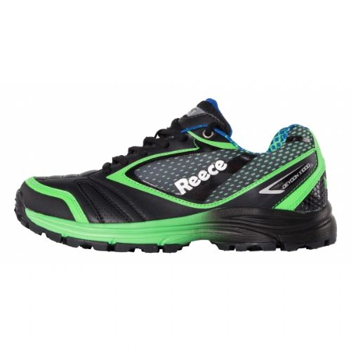 Reece Devoon Black/Green Hockey Shoe Junior